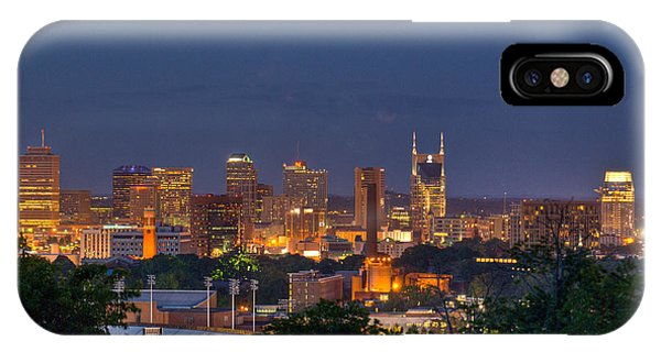 Nashville By Night 2 IPhone Case