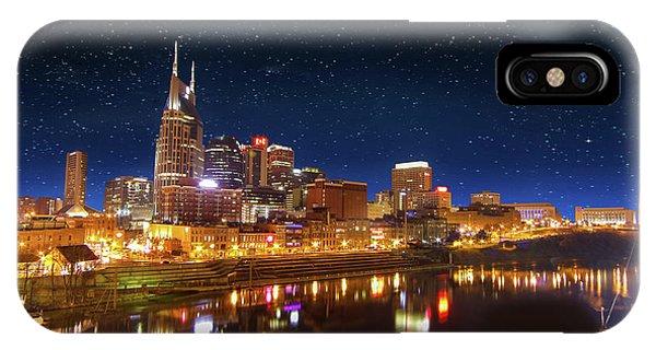Nashville Nights IPhone Case