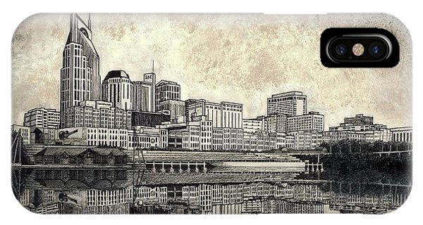Nashville Skyline II IPhone Case