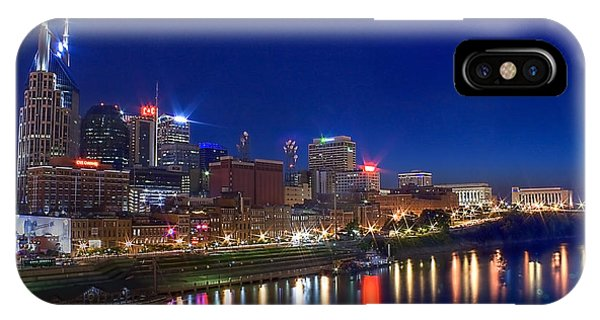 Nashville Skyline IPhone Case