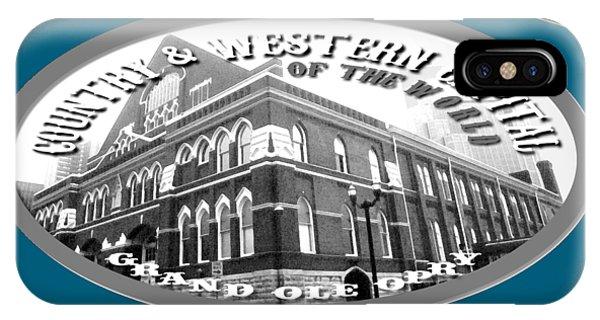 Nashville Tennessee Design IPhone Case