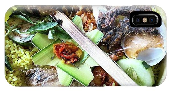 Nasi Yasa, A Special Rice Dish That Is Phone Case by Arya Swadharma