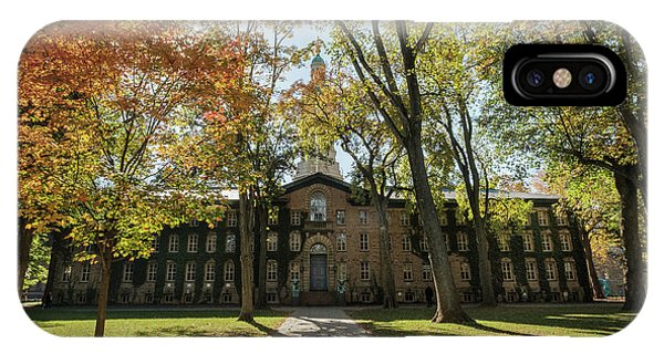 Nassau Hall Princeton University IPhone Case