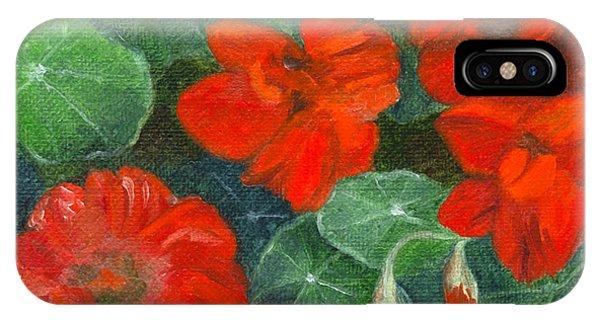 Nasturtiums IPhone Case