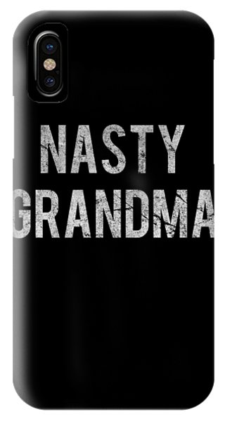 Nasty Grandma Vintage IPhone Case