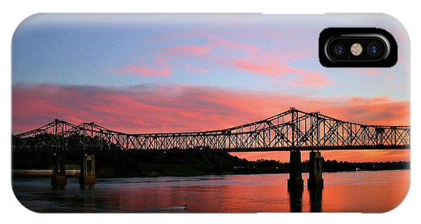 Natchez Sunset IPhone Case