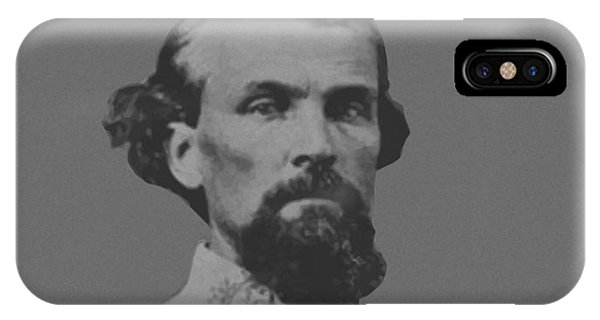 Cavalry iPhone Case - Nathan Bedford Forrest by War Is Hell Store