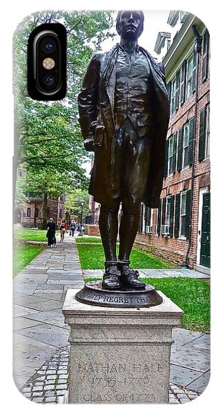 Nathan Hale IPhone Case