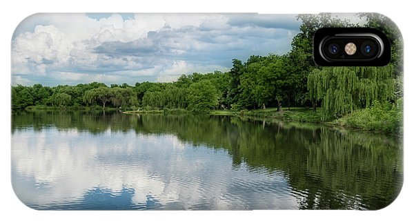 IPhone Case featuring the photograph Nathanael Greene Park by Allin Sorenson