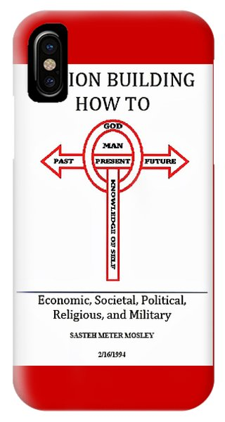 Nation Building How To Book IPhone Case