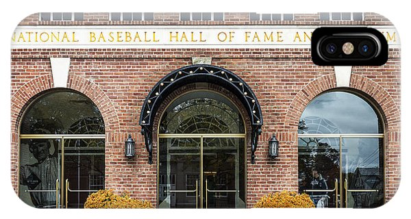 Baseball Hall Of Fame iPhone Case - National Baseball Hall Of Fame by John Greim