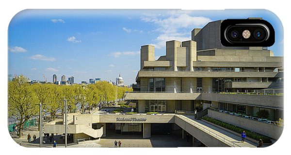 IPhone Case featuring the photograph National Theatre by Stewart Marsden