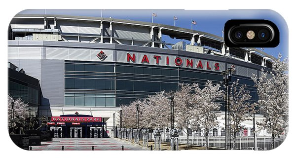 Nationals Park In Washington D.c. IPhone Case