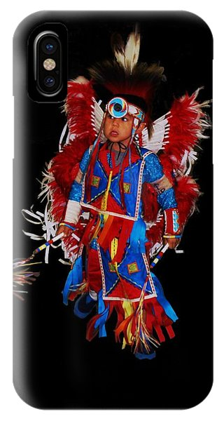 Native American Dancer IPhone Case