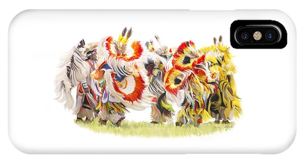 Native Color In Motion IPhone Case