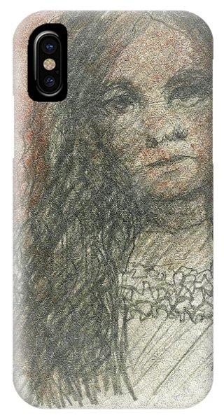Native American Girl IPhone Case