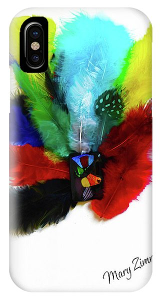 Native American Tribal Feathers IPhone Case