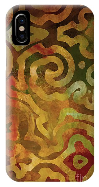 Autumn iPhone X Case - Native Elements Earth Tones by Mindy Sommers