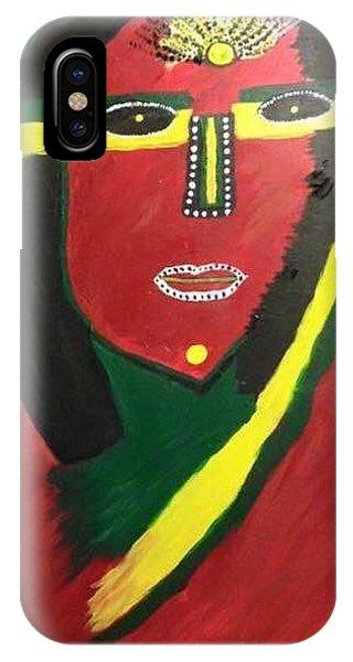 native Queen  IPhone Case