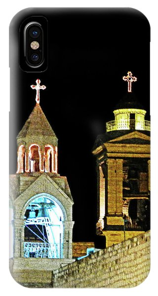 Nativity Church Lights IPhone Case
