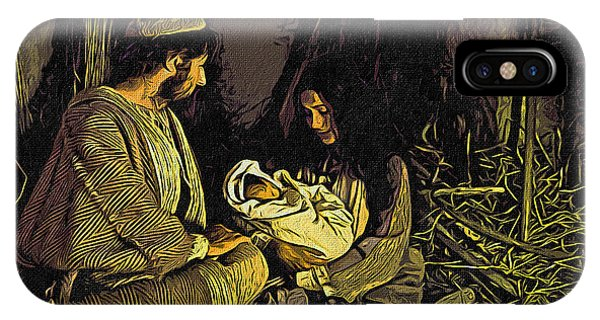 Nativity Scene IPhone Case