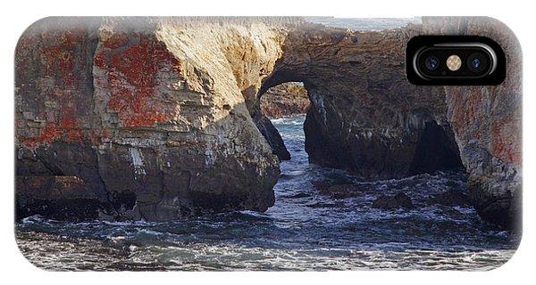 Natural Bridge At Point Arena IPhone Case