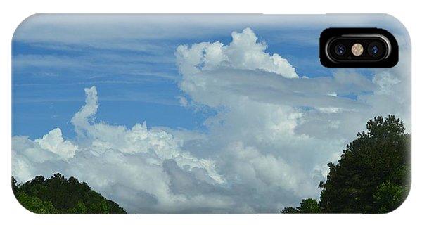 Natural Clouds IPhone Case