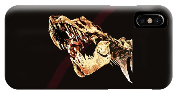 Natural History- T Rex IPhone Case