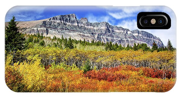 Natural Layers In Glacier National Park IPhone Case
