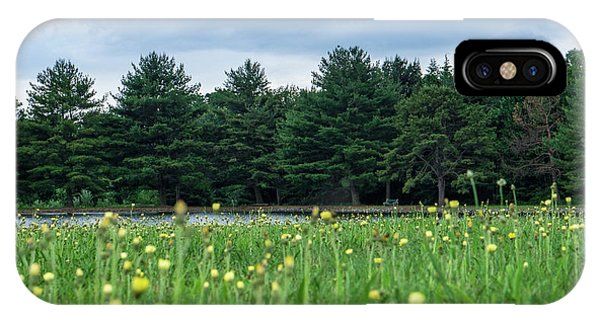 Evergreen Lake - A Groundhog View IPhone Case