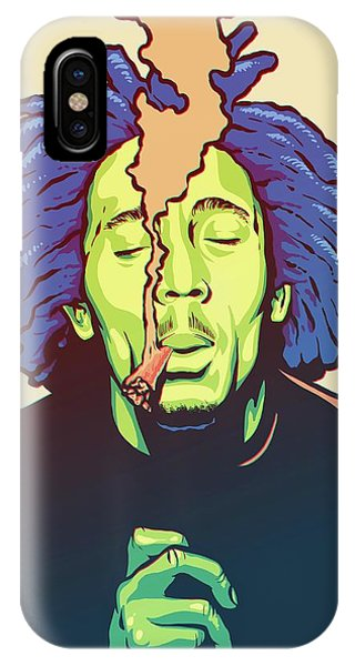 Legends Music iPhone Case - Natural Mystic by Miggs The Artist