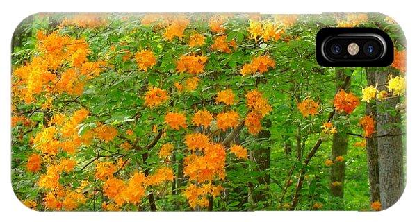 Natural Wild Azaleas  IPhone Case