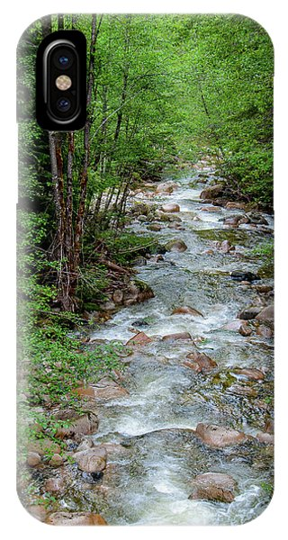 Naturally Pure Stream Backroad Discovery IPhone Case