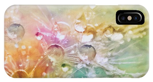 Pastel Colors iPhone Case - Nature As A Tender Abstraction by Georgiana Romanovna