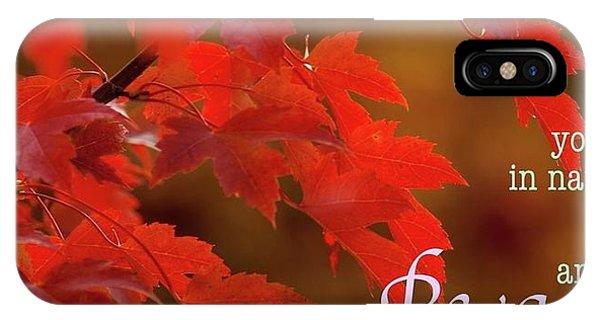 Nature202 IPhone Case