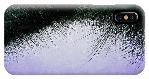 Nature's Eyelashes IPhone Case