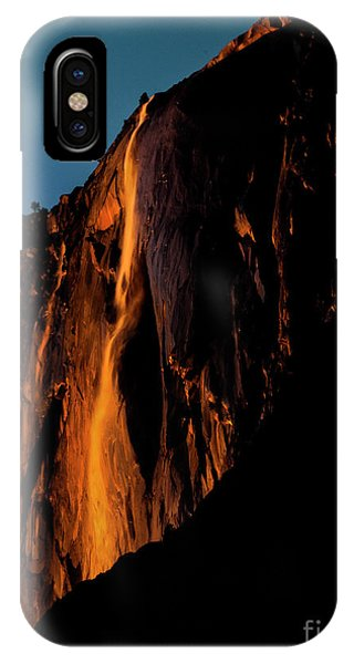 Natures Fire Fall IPhone Case