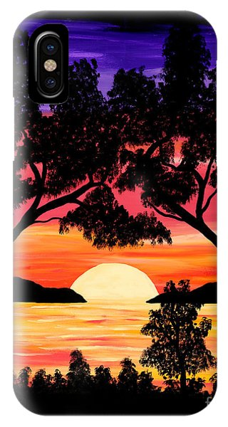 Nature's Gift - Ocean Sunset IPhone Case