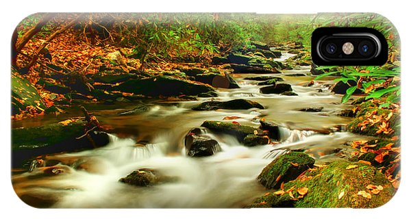 Creek iPhone Case - Natures Journey by Darren Fisher