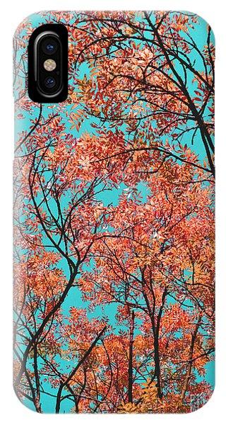 Natures Magic - Orange IPhone Case
