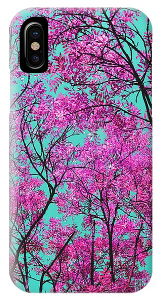 Natures Magic - Pink And Blue IPhone Case