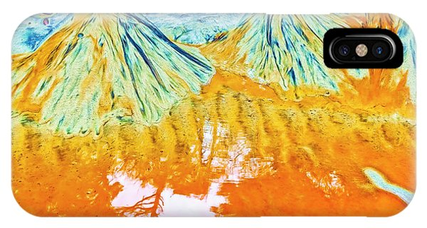 Natures Sand Art IPhone Case