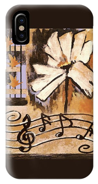 IPhone Case featuring the mixed media Natures Song by Jennifer Page