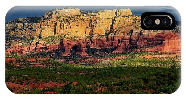 Nature's Spotlight, Sedona, Arizona IPhone Case