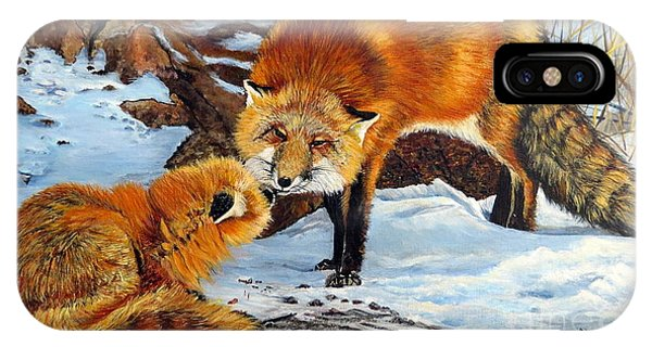 Natures Submission IPhone Case