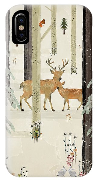 Stag iPhone Case - Natures Way The Deer by Bri Buckley