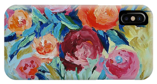 Red Flower iPhone Case - Nature's Wonder by Linda Monfort