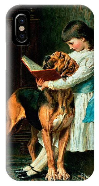 Girls iPhone Case - Naughty Boy Or Compulsory Education by Briton Riviere