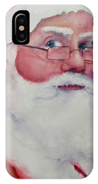 Naughty Or Nice ? Santa 2016 IPhone Case