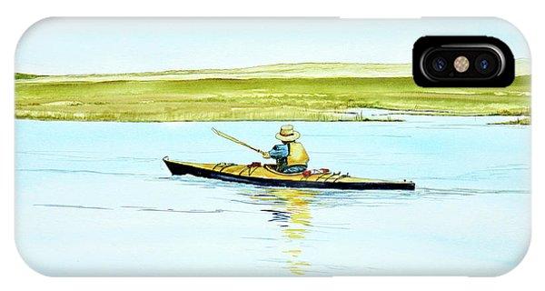 Nauset Kayaker IPhone Case